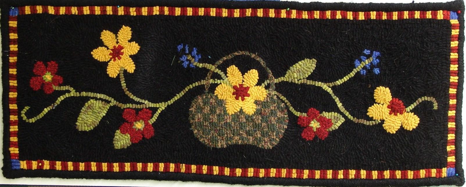 Mountain Wool Rug Hooking Kits By Sara Beth Black